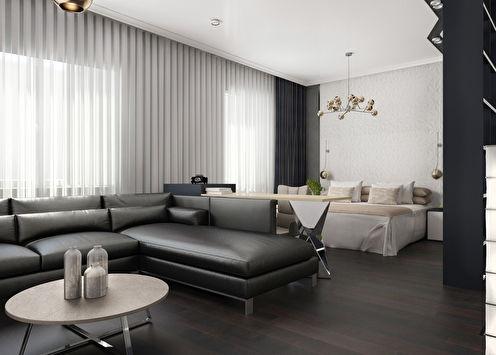 Noir & Blanc: Studio 52 m²