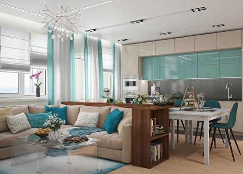 Appartement pour une famille avec quatre enfants