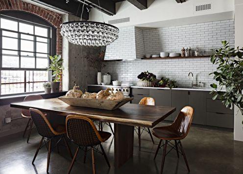 Cuisine style loft: 40 idées d'aménagement et de rénovation