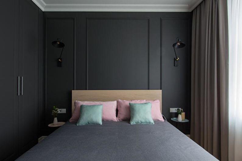Chambre noire - Design d'intérieur 2018