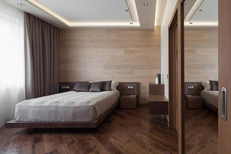 Chambre Design 2018 - Finition Plafond