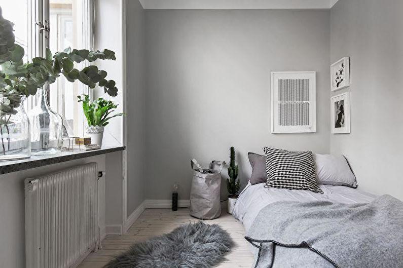 Design d'intérieur d'une petite chambre 2018