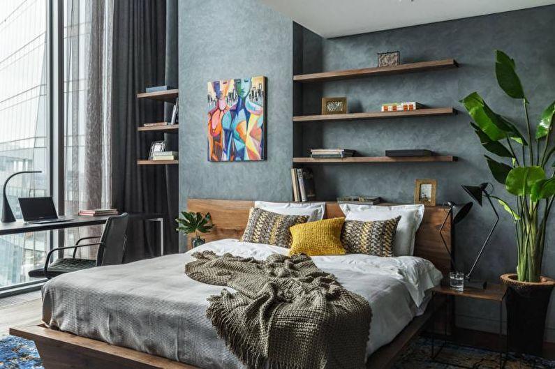 Chambre design d'intérieur 2018 - photo