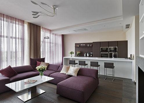 Design d'appartement dans le centre de Saint-Pétersbourg
