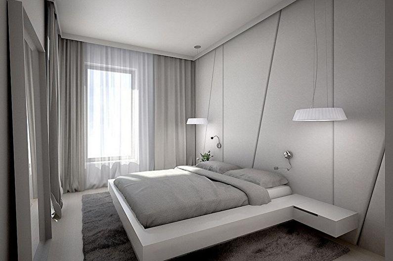 Conception de la chambre 15 m2 - Solutions de couleur