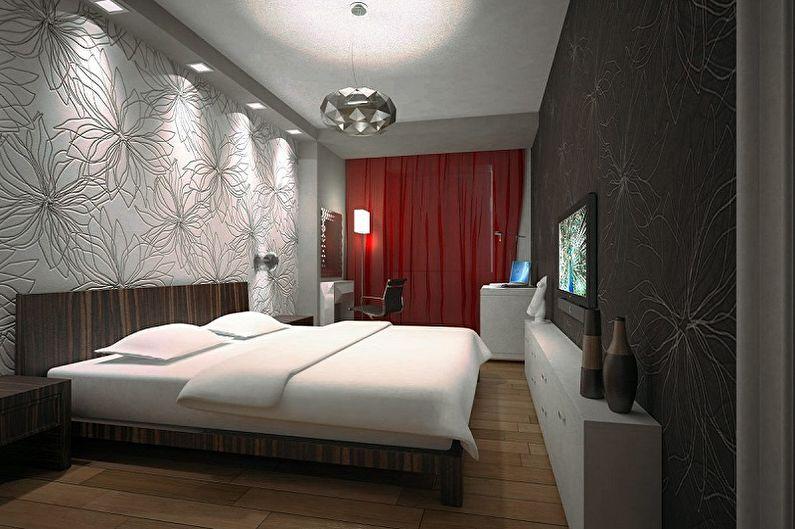 Conception de la chambre 15 m2 - Éclairage et décoration