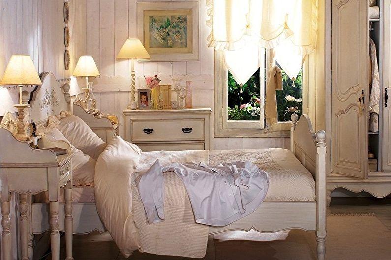 Chambre 15 m2 dans le style provençal - Design d'intérieur