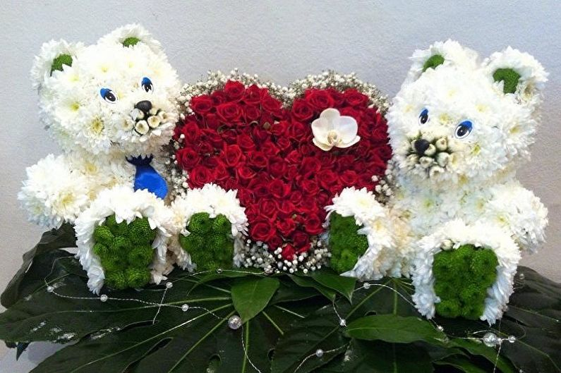Cadeau de bricolage pour le 14 février - Jouet de fleurs fraîches