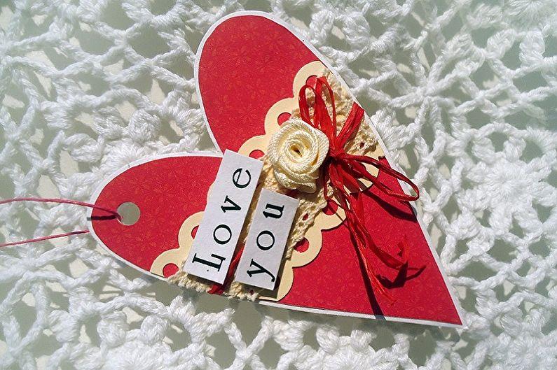Cadeaux bricolage du 14 février - Idées photo