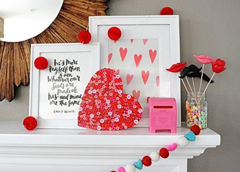 Comment décorer un appartement le 14 février: 70 idées photo