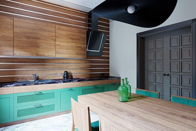 Vert émeraude: projet de conception de cuisine - photo 1