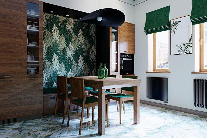 Vert émeraude: projet de conception de cuisine - photo 4