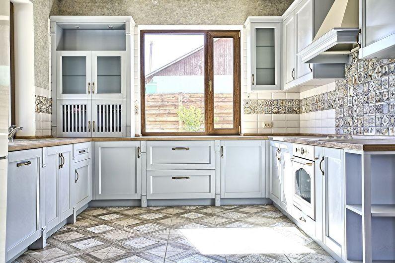 Matériaux et finitions - design de cuisine de style provençal