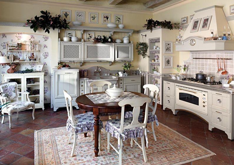 Design et décoration de la cuisine de style provençal
