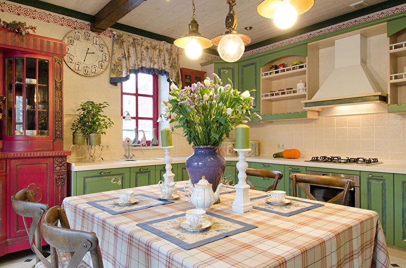 Cuisine d'angle Provence