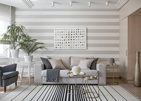 50 belles idées de papier peint pour la salle