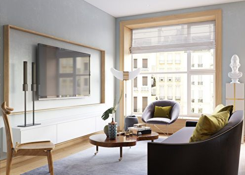 Projet de conception de l'appartement «St. Helena