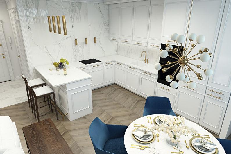 Appartement Design dans LCD Donskoy Olympus - photo 4
