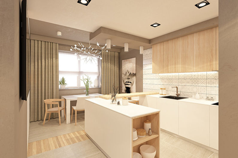 Appartement design 53 m2 - photo 3