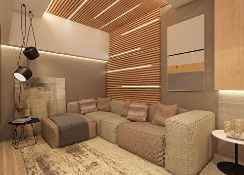 Dizajn stana 53 m²