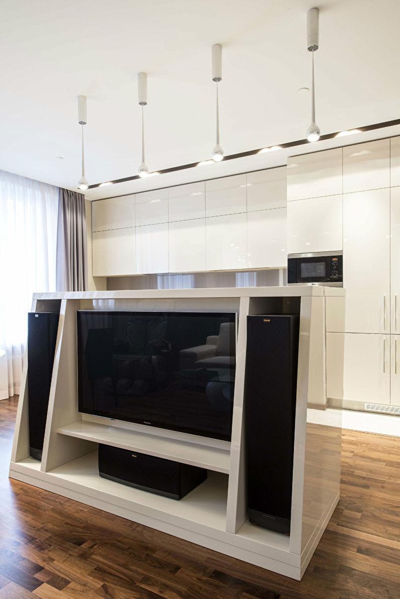 Niveaux de gris: Appartement à Moscou - photo 2