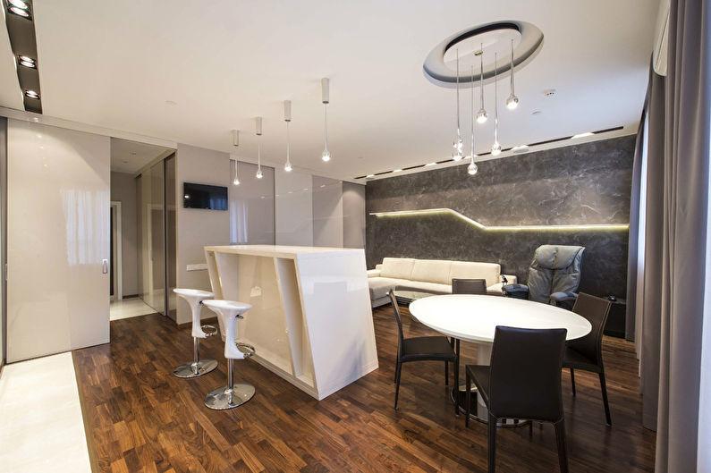 Niveaux de gris: Appartement à Moscou - photo 3