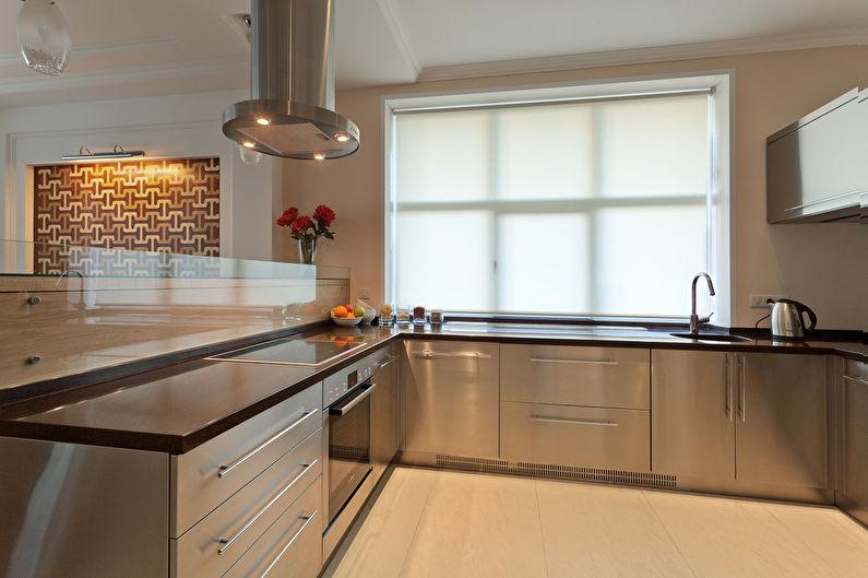 Cuisine-salle à manger minimaliste - photo 2