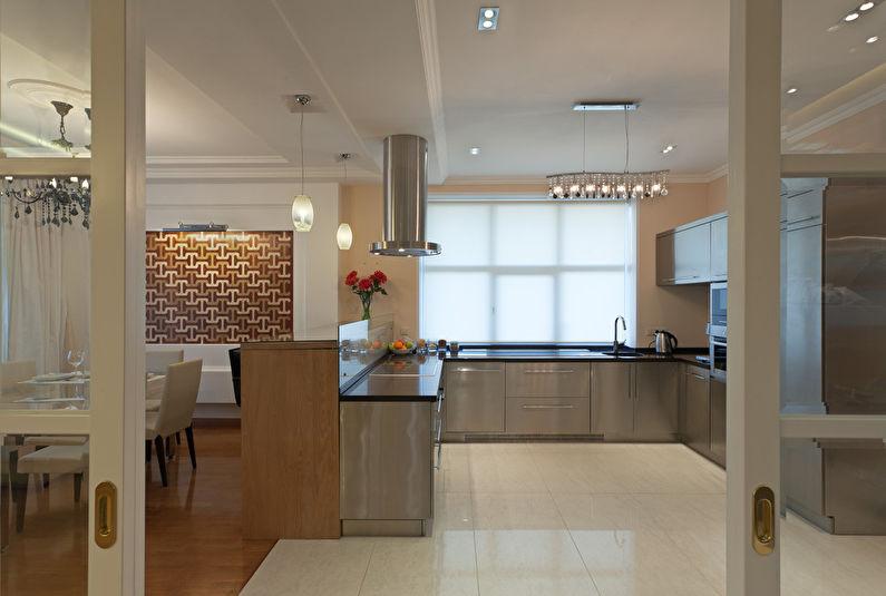 Cuisine-salle à manger minimaliste - photo 3