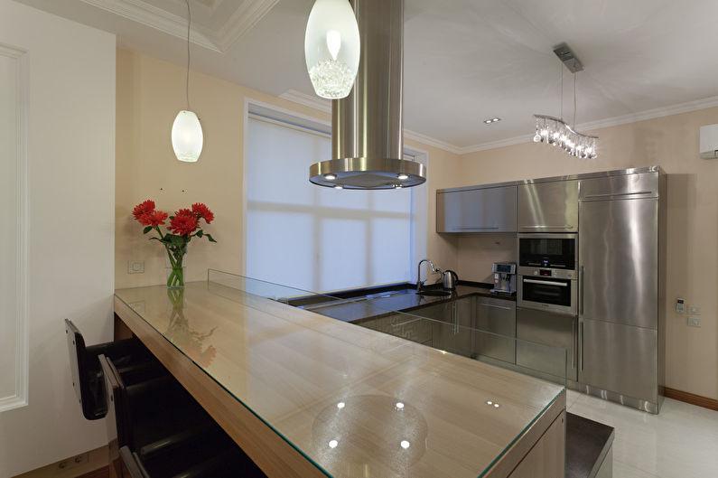 Cuisine-salle à manger minimaliste - photo 4