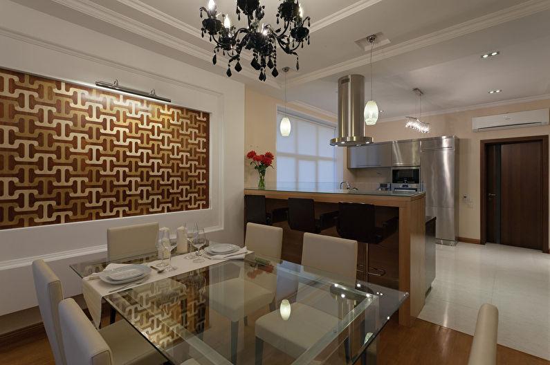 Cuisine-salle à manger minimaliste - photo 5
