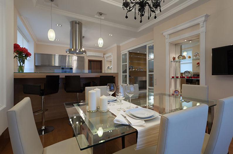 Cuisine-salle à manger minimaliste - photo 6