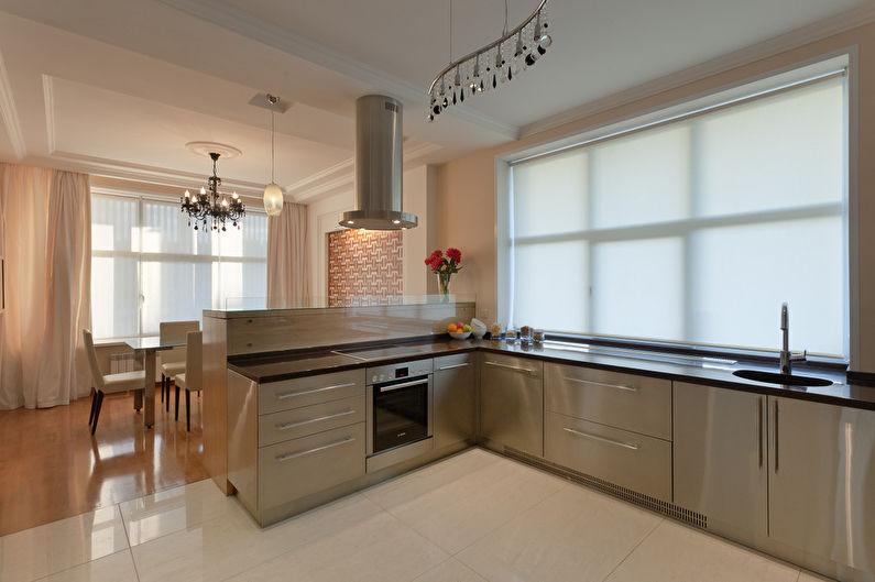 Cuisine-salle à manger minimaliste