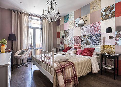 La combinaison de papier peint dans la chambre (+50 photos)