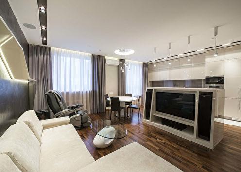 Niveaux de gris: Appartement à Moscou