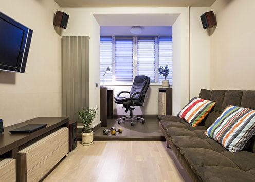 Chambre pour un jeune homme, 13 m2