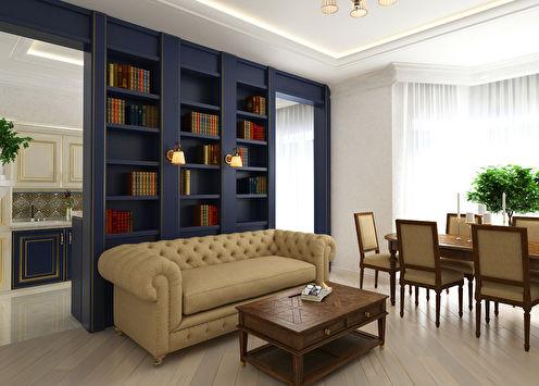 Projet de design de l'appartement