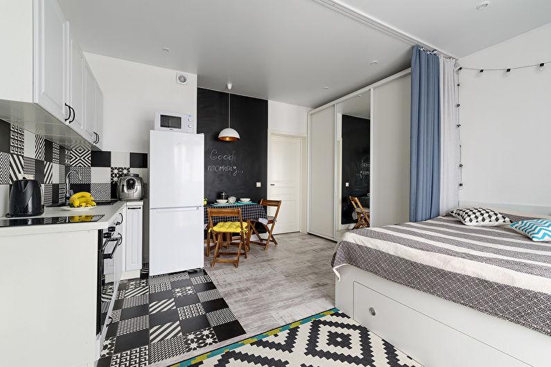 Studio dans un style scandinave - photo 3