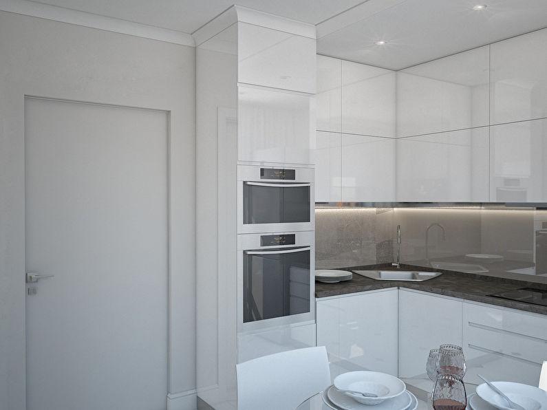 L'appartement est dans un style moderne, 40 m². - photo 4