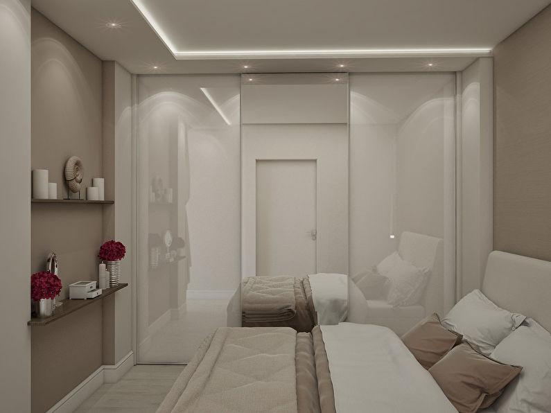 L'appartement est dans un style moderne, 40 m². - photo 7