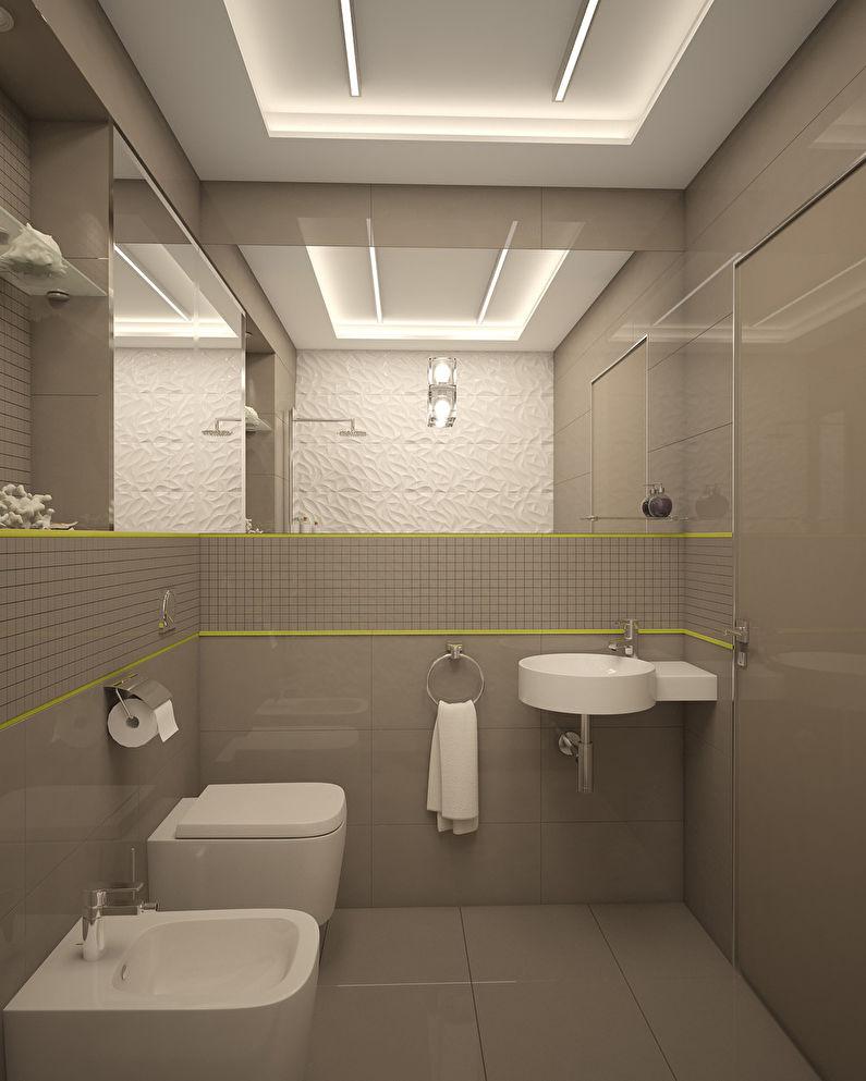 L'appartement est dans un style moderne, 40 m². - photo 10