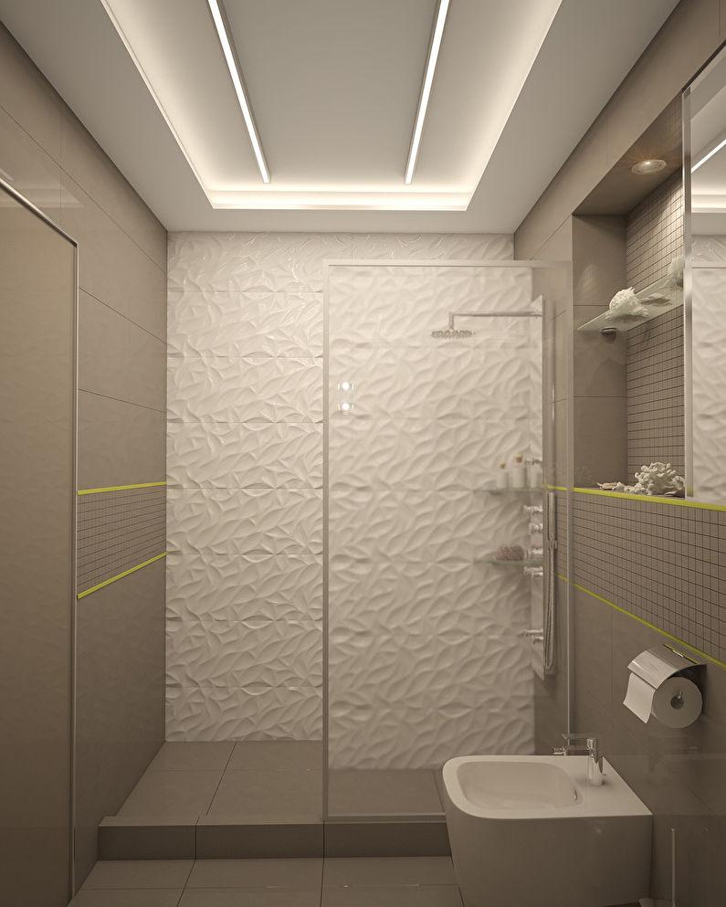 L'appartement est dans un style moderne, 40 m². - photo 11