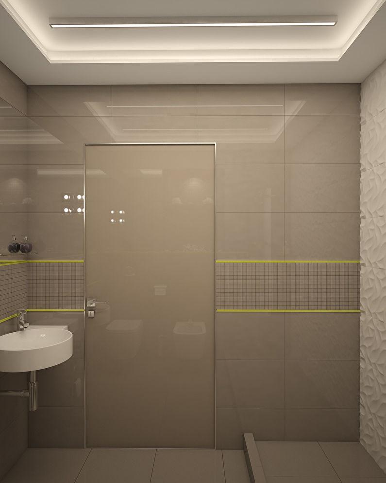 L'appartement est dans un style moderne, 40 m². - photo 12