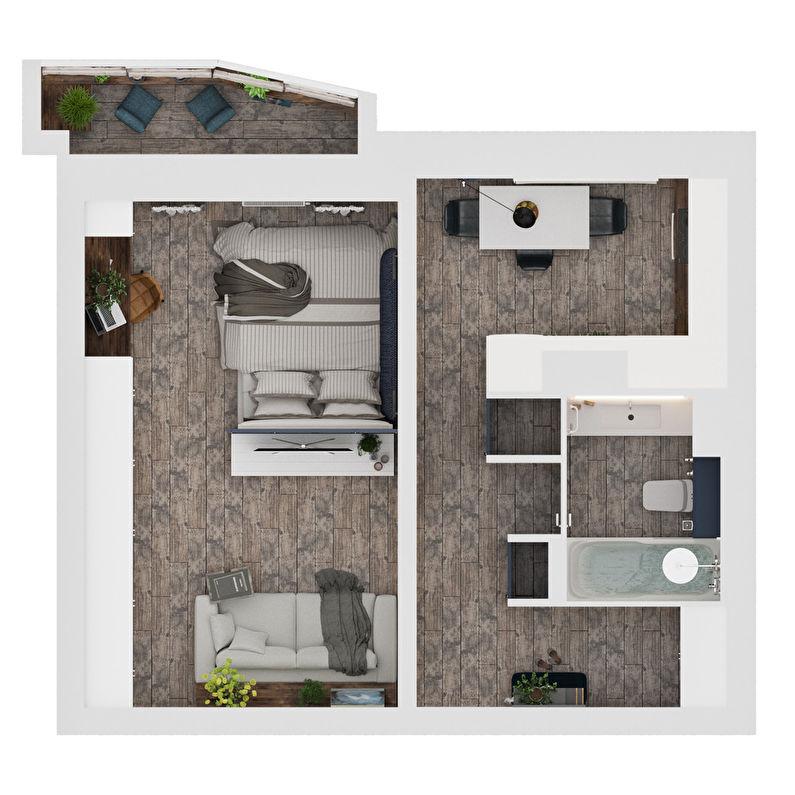Appartement Design Fleur - photo 13