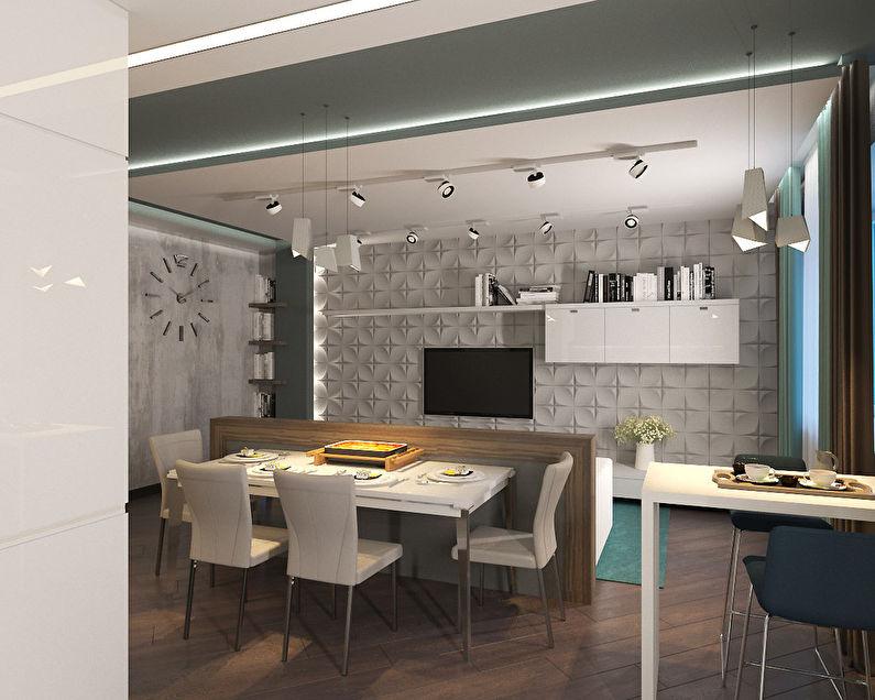 Studio 36 m2 - photo 3