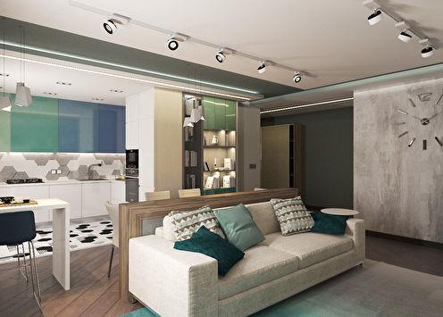 Studio apartman 36 m2