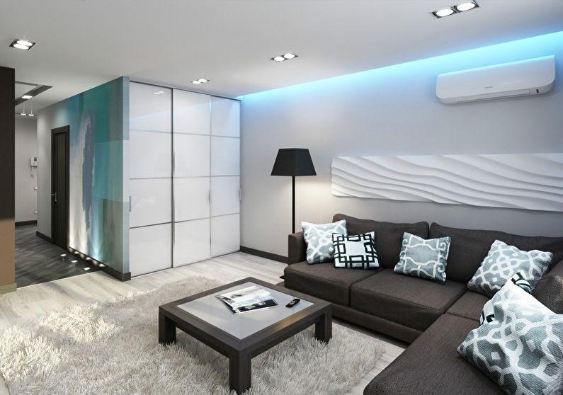 Intérieur d'un appartement «Au-dessus des nuages» - photo 1