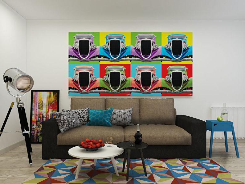 """""""L'invasion du Pop Art"""": Appartement 46 m2 - photo 1"""