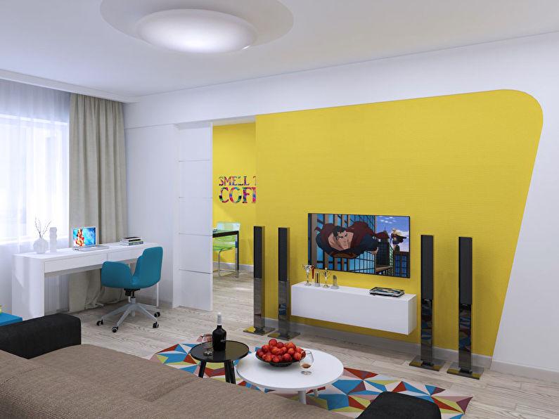 """""""L'invasion du Pop Art"""": Appartement 46 m2 - photo 2"""