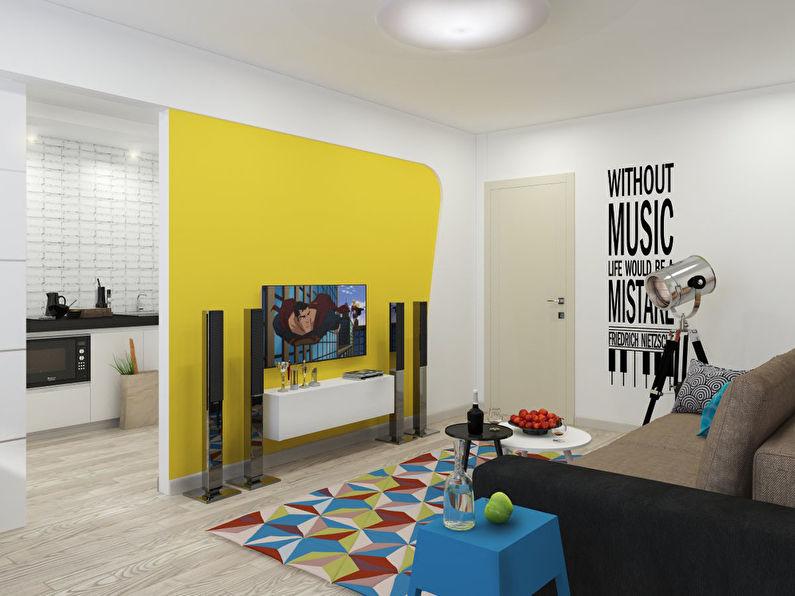 """""""L'invasion du Pop Art"""": Appartement 46 m2 - photo 3"""