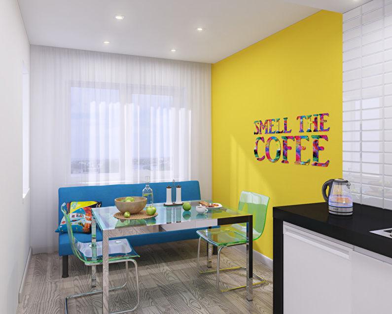 """""""L'invasion du Pop Art"""": Appartement 46 m2 - photo 6"""